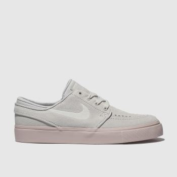 Nike Sb Light Grey Stefan Janoski Unisex Youth