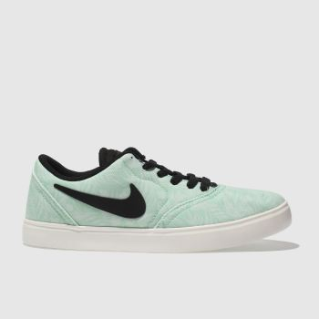 Nike Sb Turquoise Check Unisex Youth