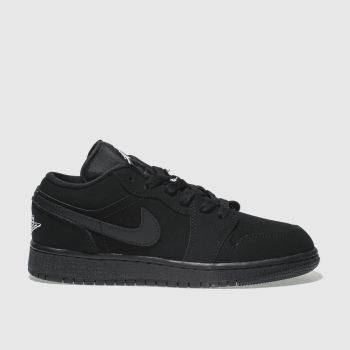 Nike Jordan Black & White Nike Jordan 1 Low Unisex Youth
