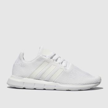 Adidas White Swift Run Unisex Youth#