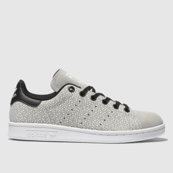 Adidas Light Grey Stan Smith Unisex Youth