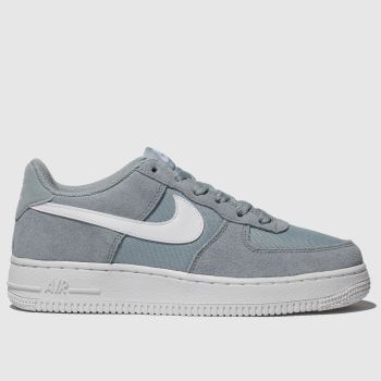 Nike Light Grey AIR FORCE 1 Unisex Youth