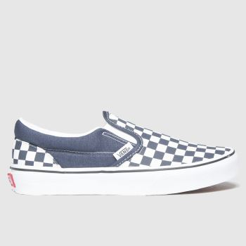 Vans Navy Classic Slip-on Unisex Youth#