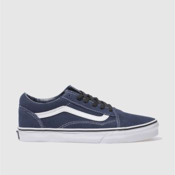Vans Navy OLD SKOOL Unisex Youth