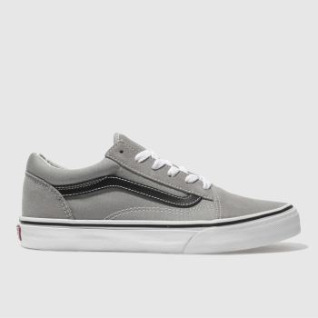 Vans Grey Old Skool Unisex Youth