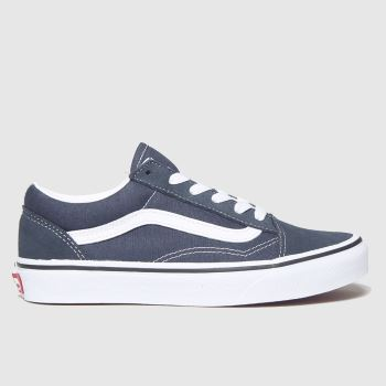 Vans Navy Old Skool Unisex Youth#