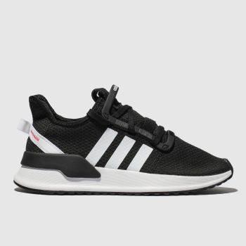Adidas Black & White U_Path Run Unisex Youth