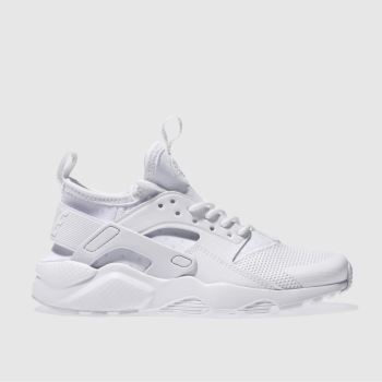 size 40 a3511 a9747 Nike White Air Huarache Ultra Unisex Youth