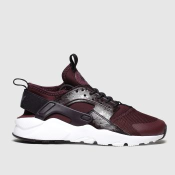 Nike Burgundy Air Huarache Ultra Unisex Youth