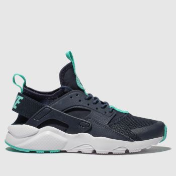 Nike Navy & Pl Blue Air Huarache Ultra Unisex Youth