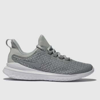 Nike Light Grey Renew Rival Unisex Youth