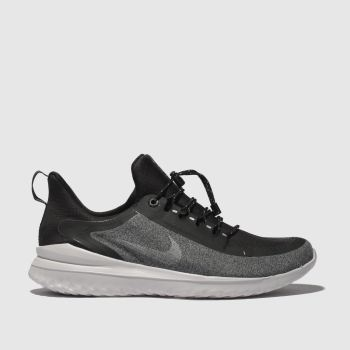 Nike Black & Grey Renew Rival Shield Unisex Youth
