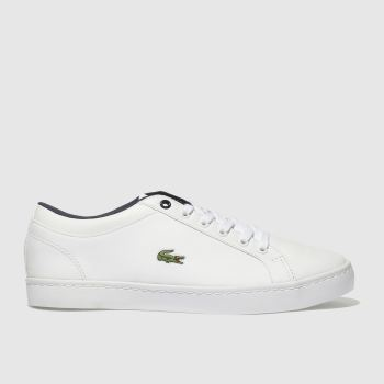 Lacoste White STRAIGHTSET Unisex Youth