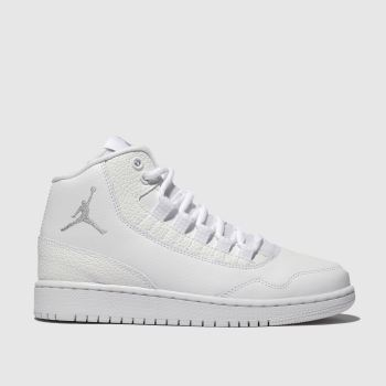 newest fecc0 99bc1 Nike Jordan White   grey Executive Unisex Youth