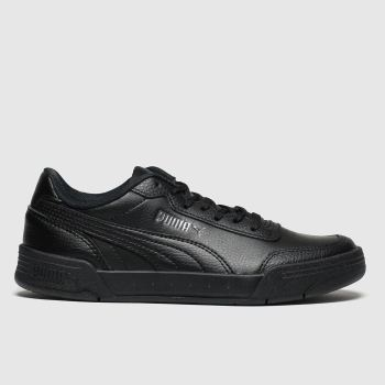 Puma Black Caracal Unisex Youth