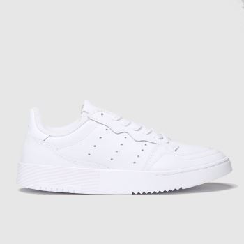 Adidas White Supercourt Unisex Youth#