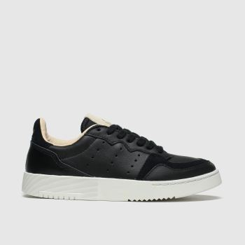 Adidas Black Supercourt Unisex Youth