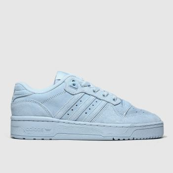 Adidas Pale Blue Rivalry Low Unisex Youth