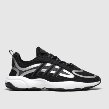 adidas Black & Grey Haiwee Unisex Youth