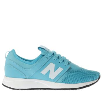 NEW BALANCE TURQUOISE 247 YOUTH TRAINERS