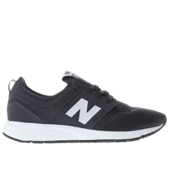 NEW BALANCE NAVY & WHITE 247 YOUTH TRAINERS