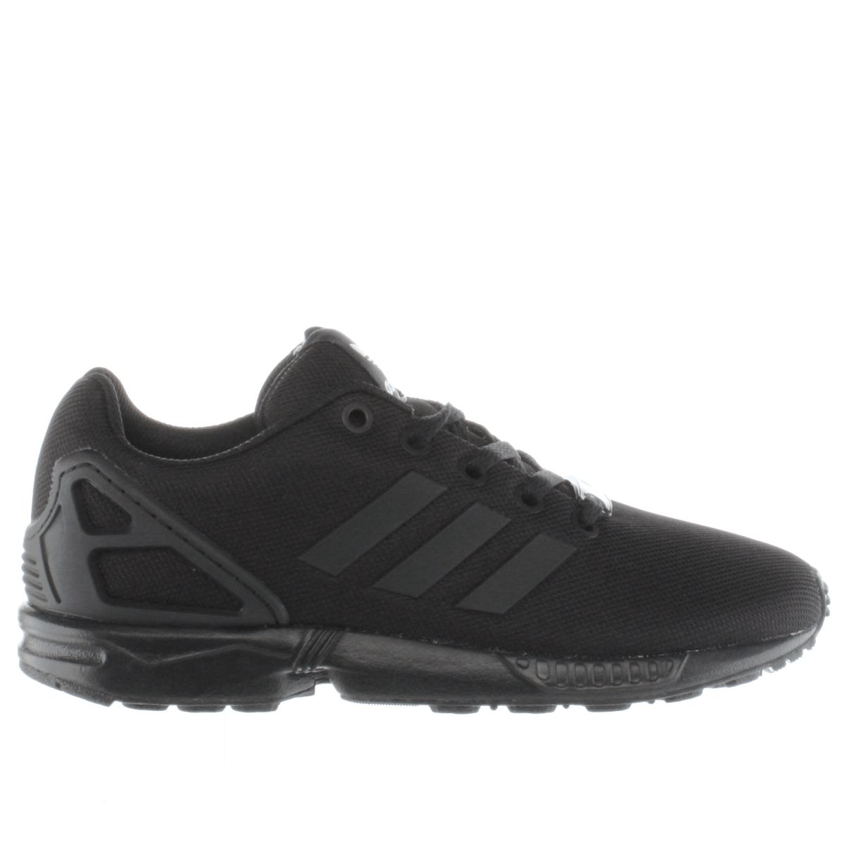 wholesale dealer ed33e 1bd51 Adidas Zx Flux K Black