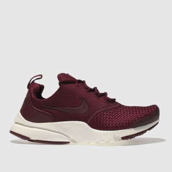 Nike Burgundy Presto Fly Se Unisex Youth