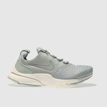 Nike Light Grey PRESTO FLY SE Unisex Youth