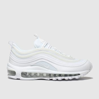 Nike White & Silver Air Max 97 Ultra 17 Unisex Youth#