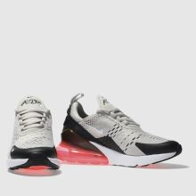 Kids Unisex stone nike air max 270 Youth schuh