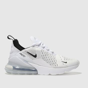 bc89bdf1507 Kids Unisex white   black nike air max 270 trainers