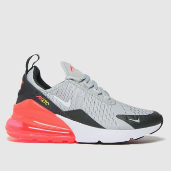 Nike Light Grey Air Max 270 Unisex Youth