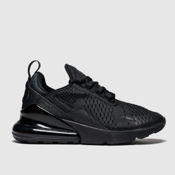 Nike Black Air Max 270 Unisex Youth