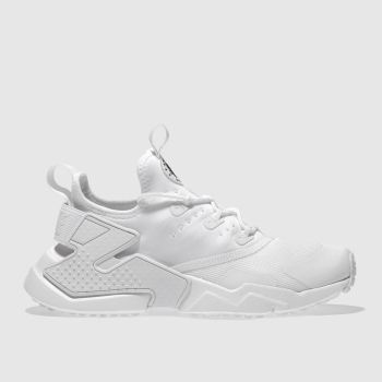 Nike White Hurache Run Drift Unisex Youth