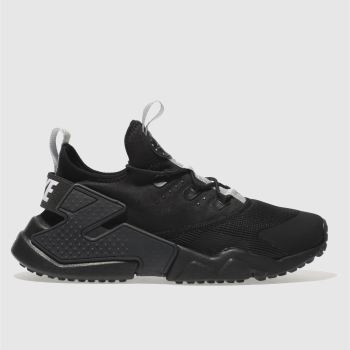 Nike Black Hurache Run Drift Unisex Youth