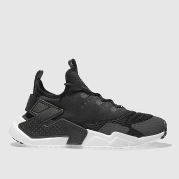 Nike Black Huarache Run Drift Unisex Youth