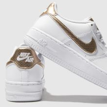 buy popular 3ed64 c64cf Kinder nike Weiß-gold Air Force 1 Ep Sneaker