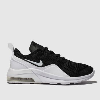 Nike Black & White Air Max Motion 2 Unisex Youth