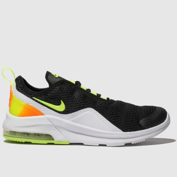 Nike Black & Orange Air Max Motion 2 Unisex Youth