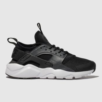 Nike Black & Grey Air Huarache Run Ultra Unisex Youth