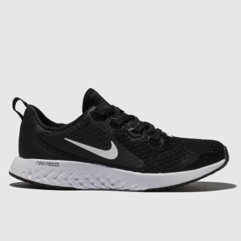 Nike Black & White Legend React Unisex Youth