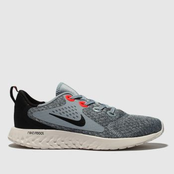 Nike Grey & Black Legend React Unisex Youth