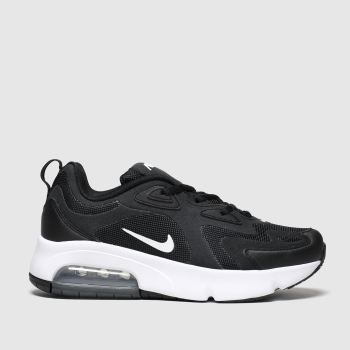 Nike Black & White Air Max 200 Unisex Youth