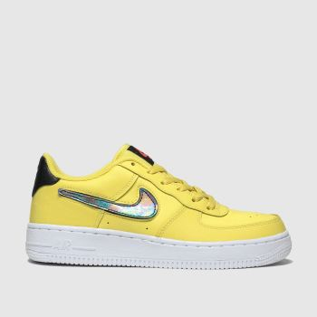 Nike Yellow Air Force 1 Lv8 3 Unisex Youth