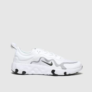 Nike White & grey Renew Lucent Unisex Youth