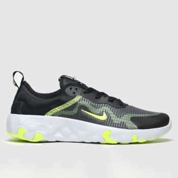 Nike Black & Green Renew Lucent Unisex Youth