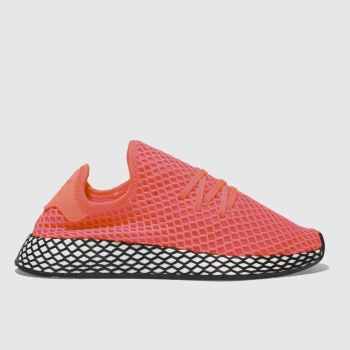 Adidas Pink Deerupt Runner Unisex Youth