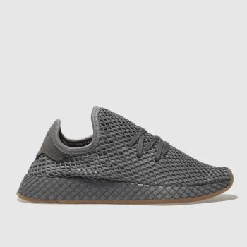 Adidas Grey Deerupt Runner Unisex Youth