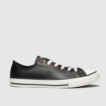 Converse Black All Star Lo Mission Warmth Unisex Youth from Schuh