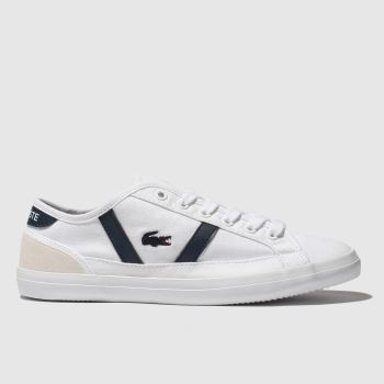Lacoste White & Navy Sideline Unisex Youth